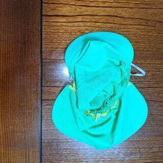 黄緑 保育園帽子