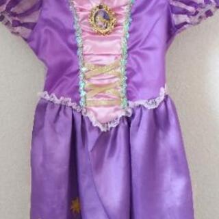 ラプンツェルの子供用ドレス