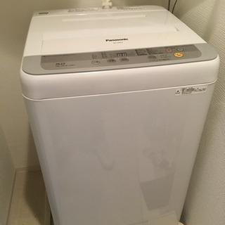 美品 中古 Panasonic洗濯機