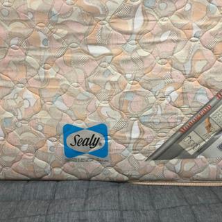 【シーリー】シングルサイズのマットレス【高級ベッドメーカー】の画像