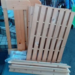 木製 シングルベッドフレーム