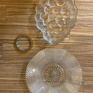 ガラス皿 盛り皿 果物皿 お菓子皿