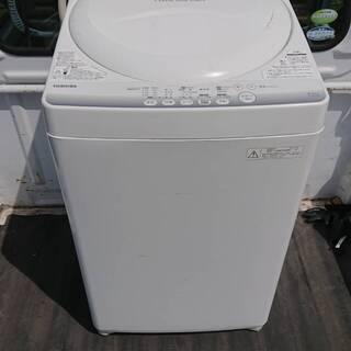 東芝 全自動洗濯機 AW-42SM 4.2㎏ 14年式