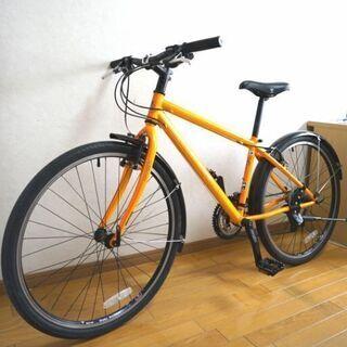 マリン クロスバイク 24段変速  前後ライト付属