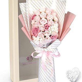C5【未使用】YOBANSA ソープフラワー 花束 造花 …