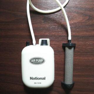 エアーポンプ  携帯用