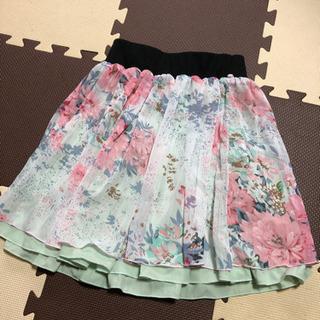 【値下げ】シフォンスカート 新品 未着用 リバーシブル