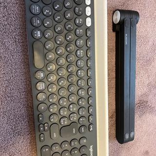 logicool ロジクール ワイヤレスキーボードK780…