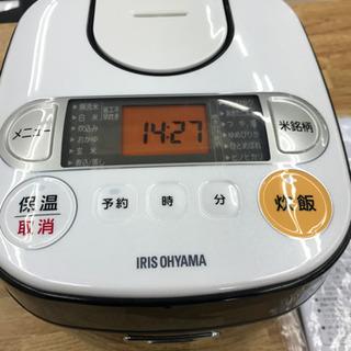 アイリスオーヤマ KRC-MA30-B 2016年製 3合 炊飯器