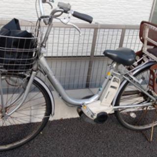 ブリジストンの電動自転車(子供乗せシート付)を格安でお譲りします