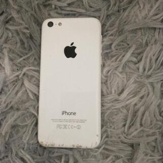 【中古品】iPhone5cホワイト