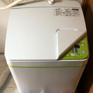 Haierの洗濯機です。