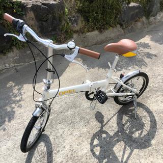 OPEL 16インチ折りたたみ自転車