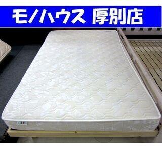 セミダブルベッド  200×120×48cm フレーム  マット...