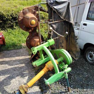 牧草モア 2連式  トラクター用 ❢❢  実働 ❢❢  スター製 ❢❢
