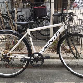 【取引中】VIENTO 自転車 26インチ クロスバイク シマノ...