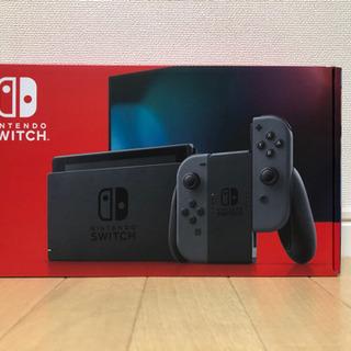 【新品未開封】任天堂 スイッチ グレー 本体 Nintendo ...