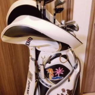 16セットゴルフクラブ&キャディーバック(2個)