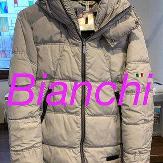 【ネット決済・配送可】Bianchi メンズダウンジャケット Mサイズ