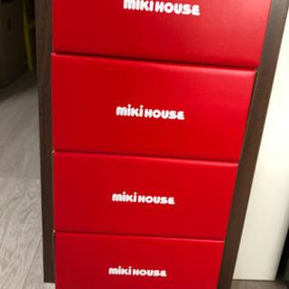 ミキハウス 靴 空箱