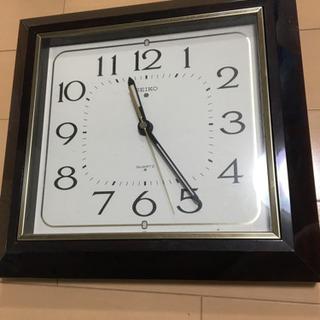 SEIKO 定番壁掛け時計