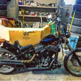 ハーレー ダビッドソン カスタム多数 車検付き 2001年 キャブ - バイク