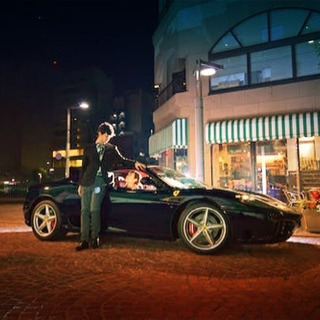 フェラーリと撮影
