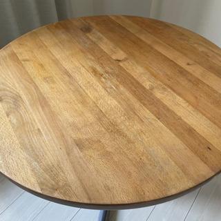 コーヒーテーブル 直径 80 cmの画像