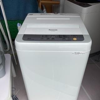💕【取付無料】パナソニック 5.0Kg 洗濯機 2017年製