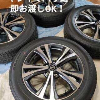 エクストレイル NT32 純正ホイール&タイヤセット
