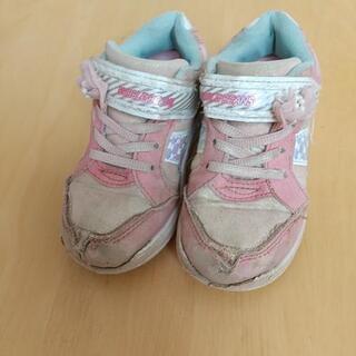 女の子靴17cm