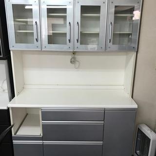 【ネット決済・配送可】🌸おすすめ 食器棚超綺麗🔰大阪市内配達無料🉐