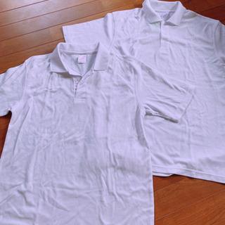 新品 白 ポロシャツ Lサイズ 2枚セット