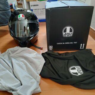 【大幅値下げ】AGV K-5 S ヘルメット 使用回数極小 箱、...