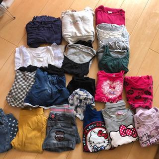 【中古】キッズ 女の子服セット 110~120サイズ