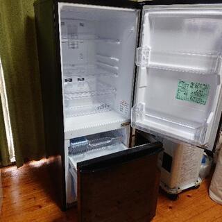 【ネット決済】【冷蔵庫】三菱電機 146L 2ドア MR-P15A-B