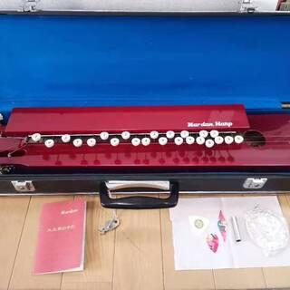 大正琴 ナルダン楽器製5弦26鍵 ハードケース付き