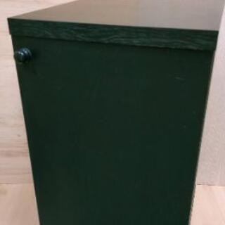 扉付き収納ボックス(回転式)