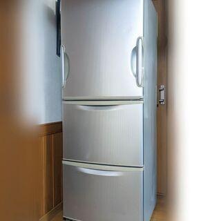 SHARP◆345L◆どっちでもドア 3ドア 冷蔵庫  SJ-W...