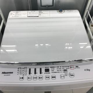 Hisense HW-G45E4KW 2016年製 5kg 洗濯機