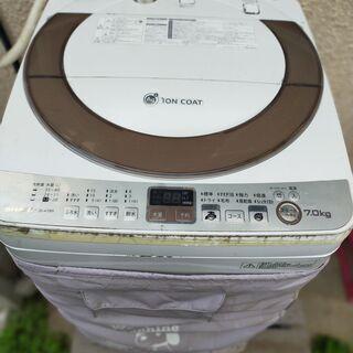 シャープ洗濯機 7キロ