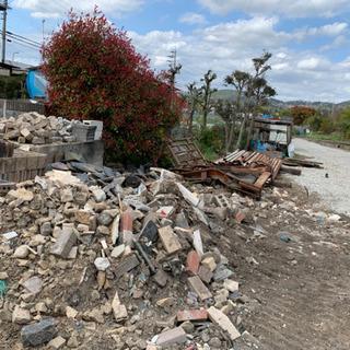 【DIY資材】コンクリートブロック、石、鉄筋など無料でお譲りします