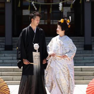 神社婚礼 衣装レンタル一式 着付けヘアーメイク 撮影全データお渡...