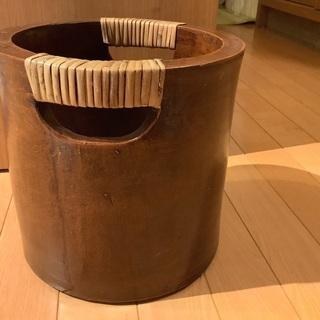 花瓶 陶器製 ナチャラル