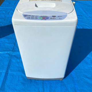 日立全自動洗濯機 NW-5AR 5Kタイプ!
