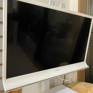 【ネット決済】AQUOS  液晶テレビ、テレビ台セット