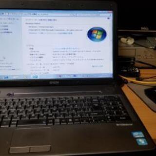 ノートパソコン Epson NJ3700E  Core i3-2...