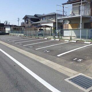 【月極駐車場】【貸地】【売地】津島市県道沿い・間口が広い