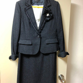 【ネット決済】セレモニージャケット&ワンピース 13号 落ち着い...