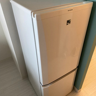 三菱 冷蔵庫 2013年製 146L MR-P15EX-KBの画像